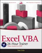 Excel VBA 24-Hour Trainer 1st Edition 9780470890691 047089069X