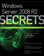 Windows Server 2008 R2 Secrets 1st edition 9780470886588 0470886587