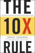 The 10X Rule 1st Edition 9780470627600 0470627603