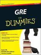 GRE For Dummies 7th Edition 9780470889213 0470889217