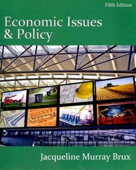 Economic Issues and Policy (Book Only) 5th edition 9780538751179 0538751177
