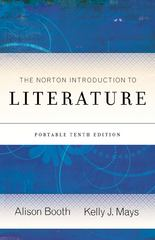 The Norton Introduction to Literature, Portable Edition 10th edition 9780393911640 0393911640