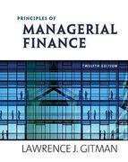 Principles of Managerial Finance 1st edition 9780558755423 0558755429