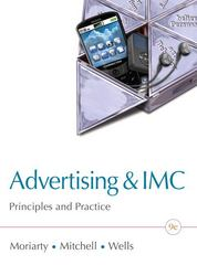 Advertising & IMC 9th Edition 9780132163644 0132163640