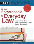 Nolo's Encyclopedia of Everyday Law 8th edition 9781413313215 1413313213