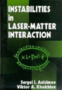 Instabilities in Laser-Matter Interaction 1st edition 9780849386602 0849386608