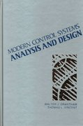 Modern Control Systems Analysis and Design 1st Edition 9780471811930 0471811939