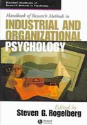 Handbook of Research Methods in Industrial and Organizational Psychology 1st edition 9781405127004 1405127007