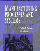 Manufacturing Processes and Systems 9th edition 9780471047414 0471047414