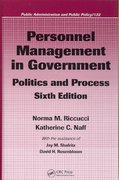 Personnel Management in Government 6th edition 9780849385193 0849385199
