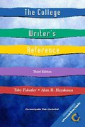 The College Writer's Reference 3rd edition 9780130429230 0130429236