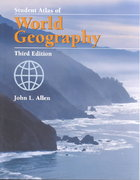 Student Atlas of World Geography 3rd edition 9780072828238 0072828234