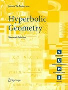 Hyperbolic Geometry 2nd Edition 9781852339340 1852339349