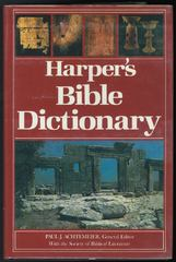 Harper's Bible Dictionary 0 9780060698638 0060698632