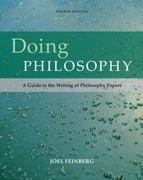 Doing Philosophy 4th edition 9780495096078 0495096075