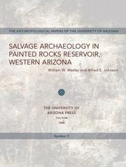 Salvage Archaeology in Painted Rocks Reservoir, Western Arizona 1st Edition 9780816502738 0816502730