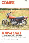 Kawasaki Z and KZ 900-1000 CC Chain and Shaft Drive, 1973-1981 3rd edition 9780892878376 0892878371