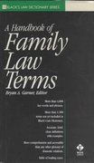 A Handbook of Family Law Terms 0 9780314249067 0314249060