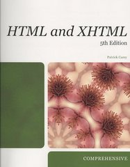 New Perspectives on HTML and XHTML 5th edition 9781423925460 1423925467