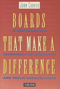 Boards That Make a Difference 2nd edition 9780787908119 0787908118