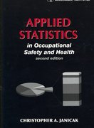 Applied Statistics in Occupational Safety and Health 2nd Edition 9780865871694 0865871698
