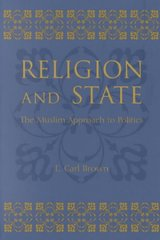 Religion and State 1st Edition 9780231120395 0231120397