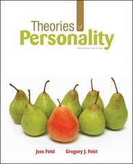Theories of Personality 7th Edition 9780073382708 0073382701