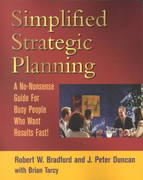 Simplified Strategic Planning 1st Edition 9781886284463 1886284466