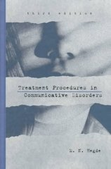 Treatment Procedures in Communicative Disorders 3rd Edition 9780890797297 0890797293