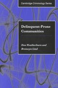 Delinquent-Prone Communities 1st edition 9780521790949 0521790948