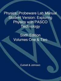 Physics, Laboratory Manual-Student Version 6th edition 9780471476757 0471476757