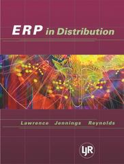 Enterprise Resource Planning in Distribution 1st edition 9780324178722 0324178727