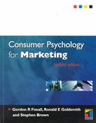 Consumer Psychology for Marketing 2nd edition 9781861523716 1861523718