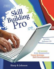 Skill Building Pro (with CD-ROM and User's Guide) 1st edition 9780538729918 0538729910