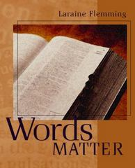 Words Matter 1st edition 9780618256624 0618256628
