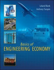Basics of Engineering Economy 1st edition 9780073401294 0073401293