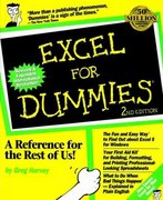 Excel For Dummies 2nd Edition 9781568840505 1568840500