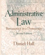 Administrative Law 2nd edition 9780130909695 0130909696