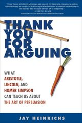 Thank You for Arguing 1st Edition 9780307341440 0307341445