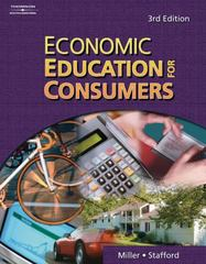 Economic Education for Consumers 3rd edition 9780538441117 0538441119