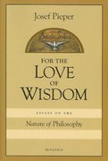For Love of Wisdom 0 9781586170875 1586170872