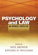 Psychology and Law 1st edition 9781593855901 1593855907