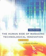 The Human Side of Managing Technological Innovation 2nd edition 9780195135312 0195135318