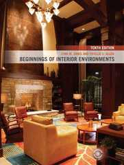 Beginnings of Interior Environments 10th edition 9780135008140 013500814X