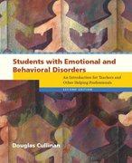 Students with Emotional and Behavioral Disorders 2nd Edition 9780131181823 0131181823