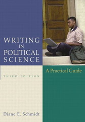 Writing in Political Science 3rd edition 9780321217356 0321217357