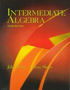 Intermediate Algebra 3rd edition 9780138508845 0138508844