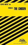 CliffsNotes on Potok's The Chosen 1st edition 9780764585098 0764585096