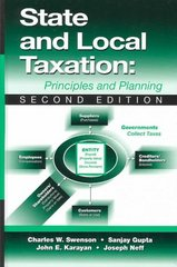 State and Local Taxation 2nd Edition 9781932159172 1932159177
