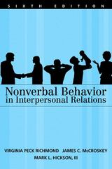 Nonverbal Behavior in Interpersonal Relations 6th edition 9780205486694 020548669X